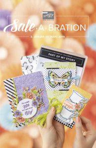 Cover Sale-A-Bration Broschüre 2019
