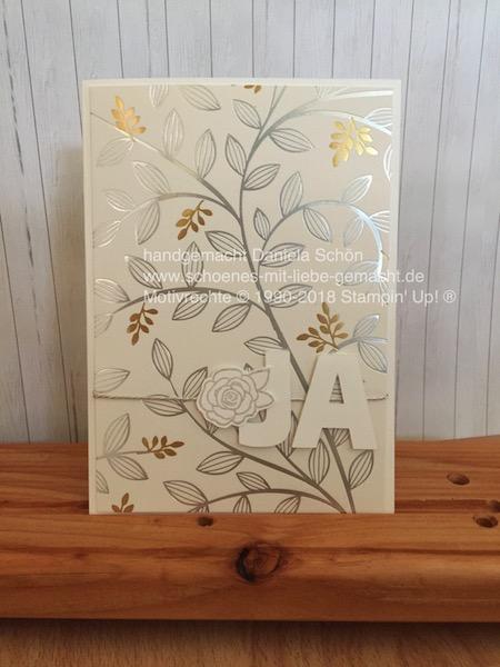 Hochzeitskarte Geldgeschenk (edel)