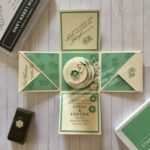 Explosionsbox in jade Hochzeit